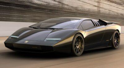 Lamborghini Countach 50 Restomod