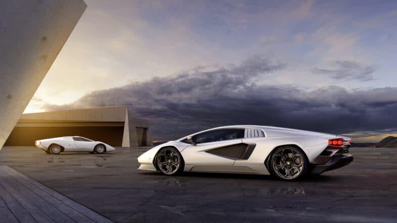 nouvelle Lamborghini Countach LPI 800-