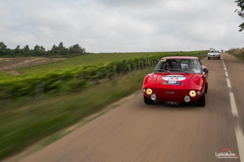 Tour Auto Etape 1 Fiat 850 Moretti Alfa Romeo Stelvio