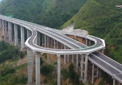 Chine demi-tour autoroute