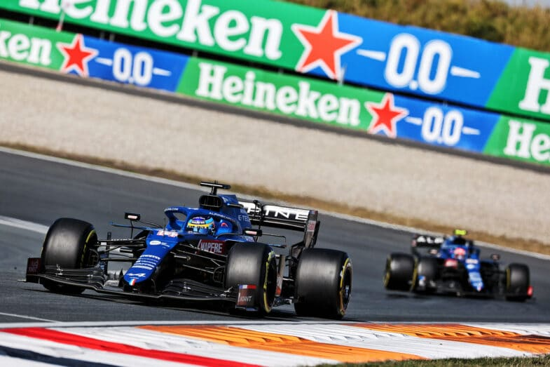 Alpine F1 Team GP des Pays Bas