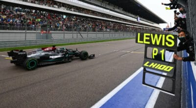 GP de Russie Lewis Hamilton