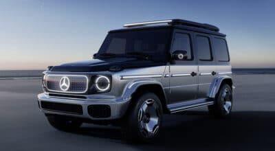 Classe G électrique Mercedes Benz Concept EQG