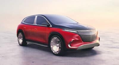 Mercedes Maybach Concept EQS