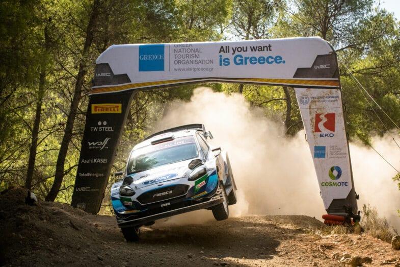 Rallye de l'Acropole Grèce