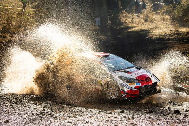 Kalle Rovanpera WRC Rallye de l'Acropole Grèce