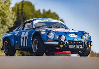 Automobiles sur les Champs Artcurial Motorcars Alpine A110