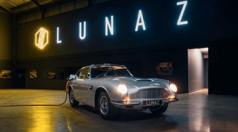 Aston Martin DB6 électrique Rétrofit