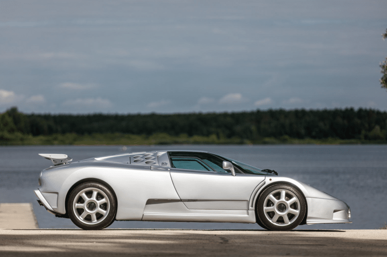 Bugatti EB110 SS Bonhams