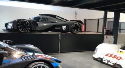 Peugeot 9X8 24 Heures du Mans Musée de L'Aventure Peugeot