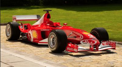 Michael Schumacher F1 Ferrari F2003-GA