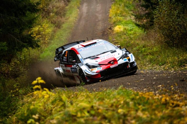 Rallye de Finlande WRC Elfyn Evans
