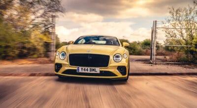 Bentley Continental GT Speed drift vidéo
