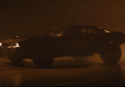 bande-annonce The Batman Batmobile